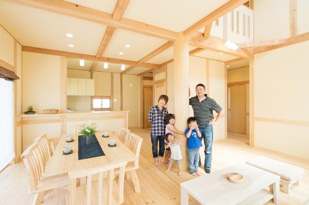 総天然木の家メイン画像